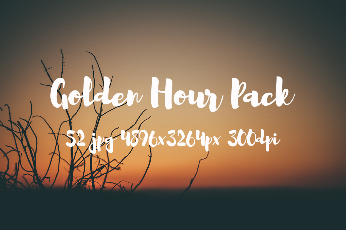 Golden hour Pack example image 11