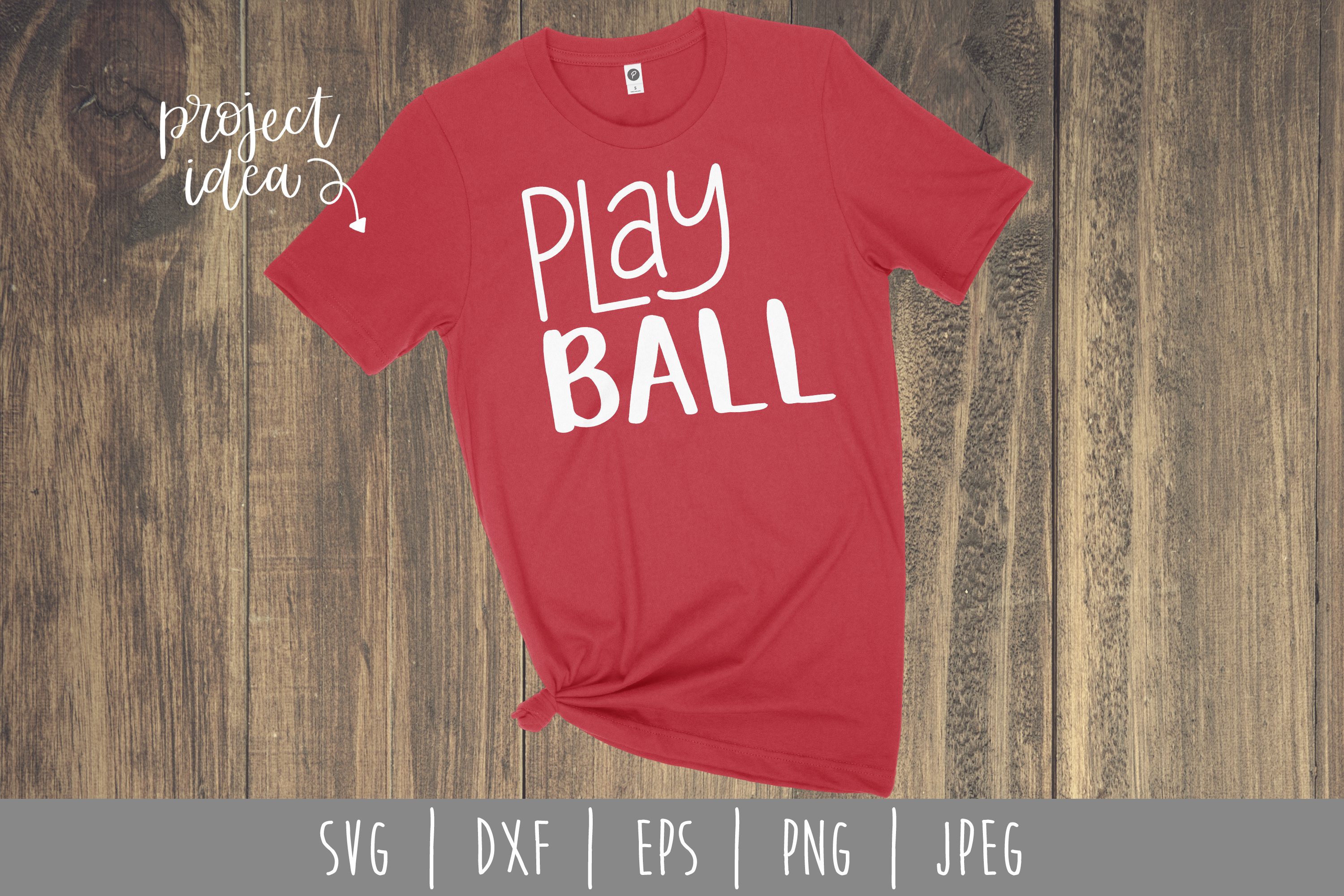 Play Ball SVG, DXF, EPS, PNG, JPEG example image 2