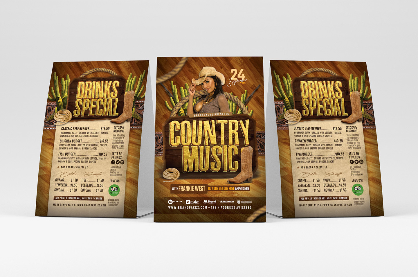 Country Music Flyer Template example image 4