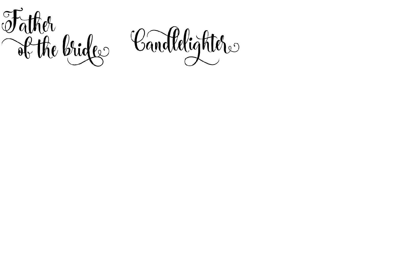Wedding BUNDLE - svg cut files example image 4