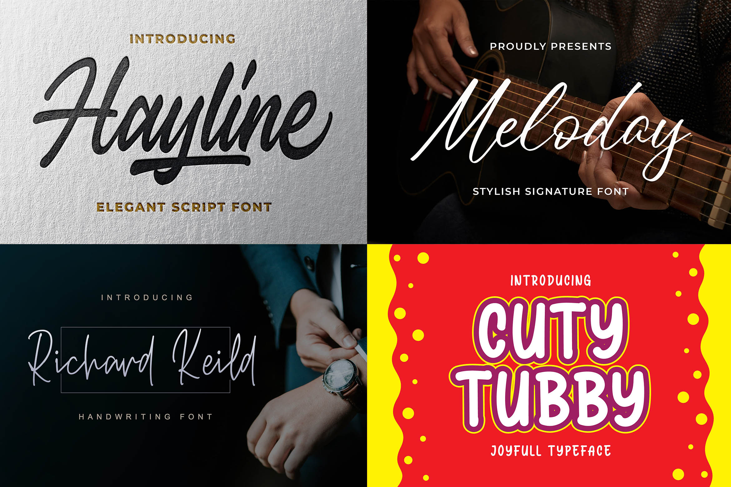 New Year Big Bundle - Crafting Fonts Collection example image 14