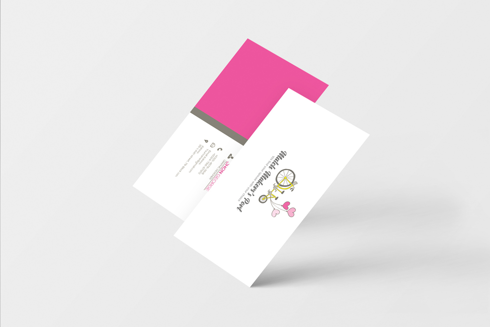 Wedding Planner's Business Card example image 3