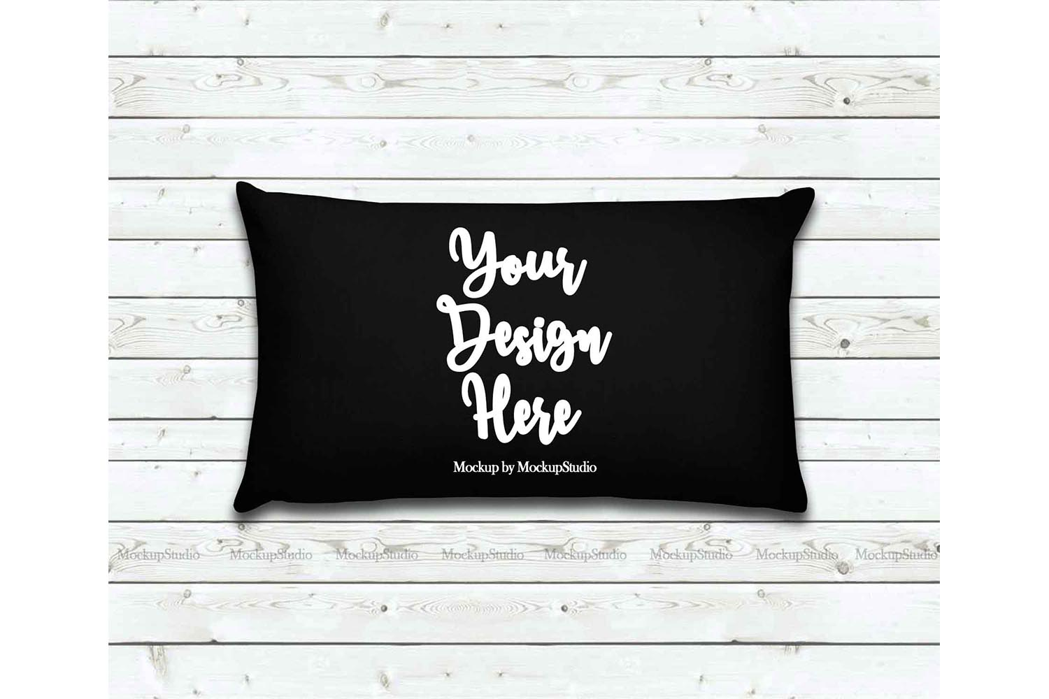 Throw Pillow Mockup Bundle 6 Images, Pillow Flat Lay Display example image 5