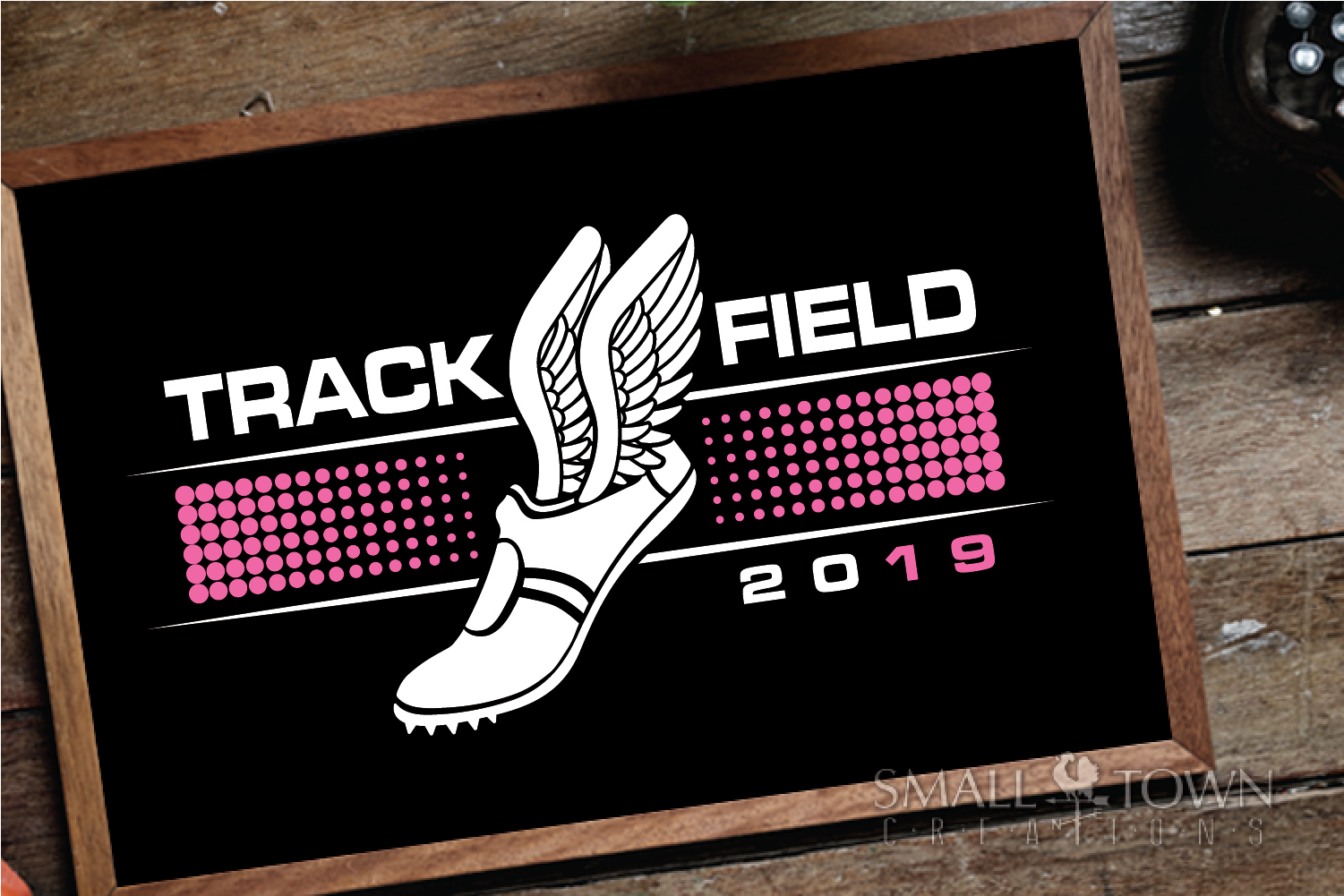 Track and Field, Team sport, Track logo, PRINT, CUT, DESIGN example image 3
