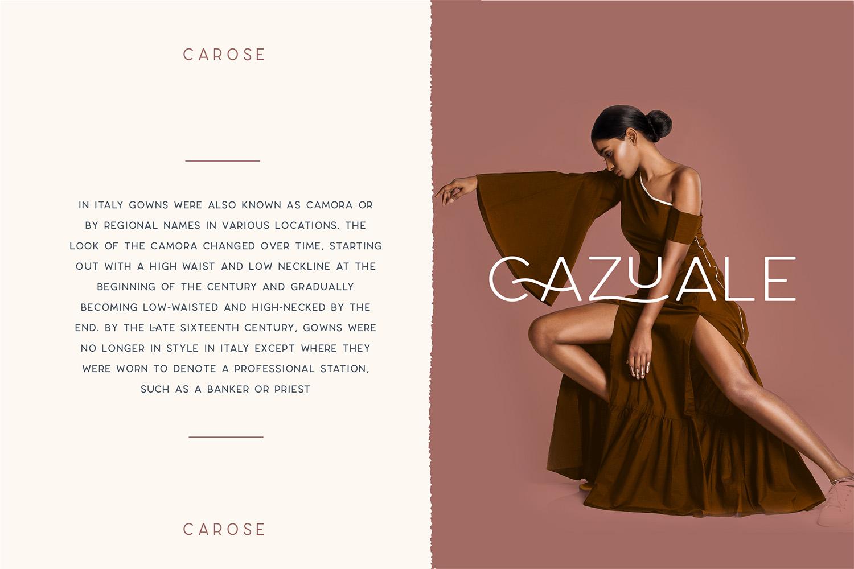 Carose Sans- 6 Elegant Typeface example image 3