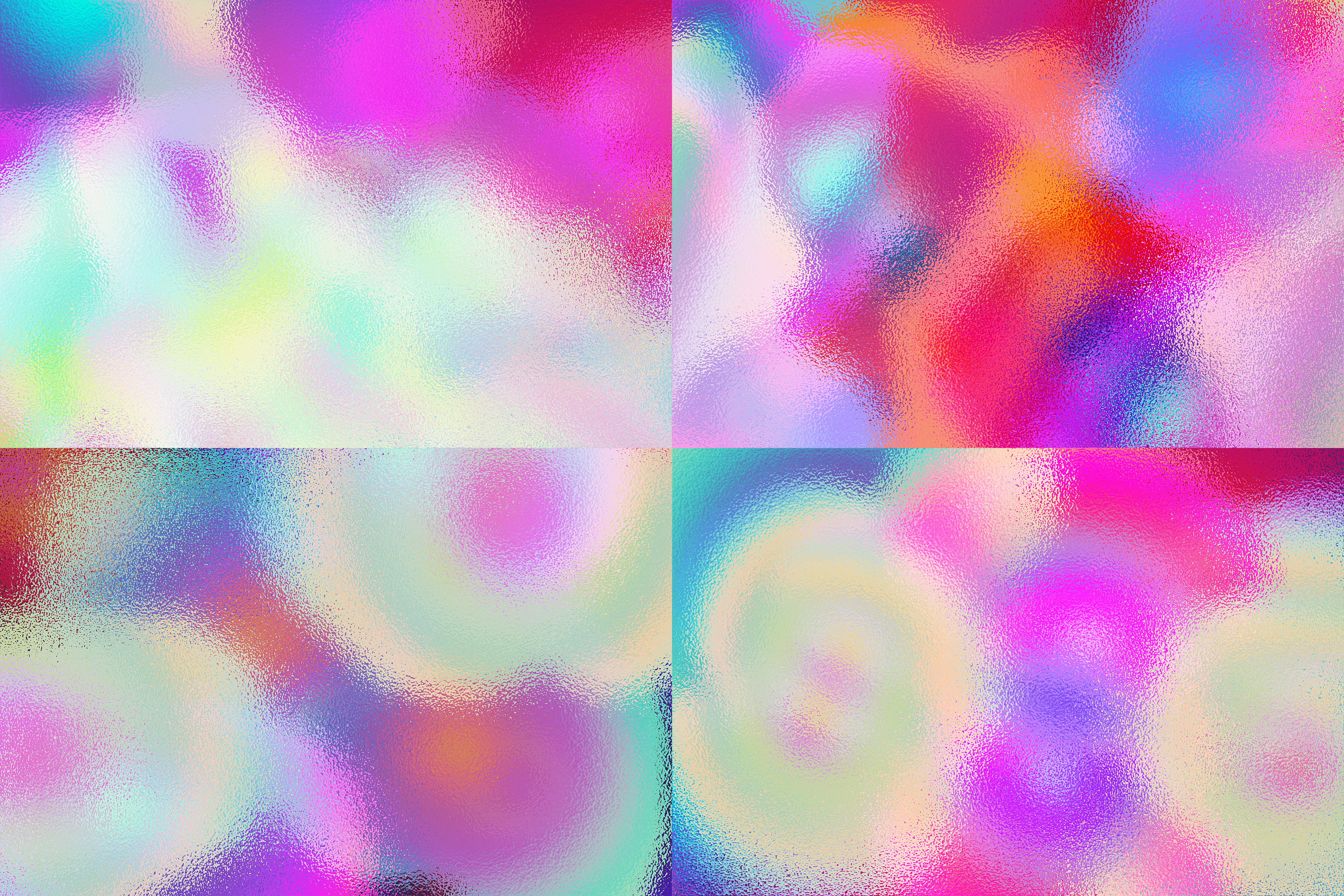 Holographic - 15 Backgrounds Pack example image 5