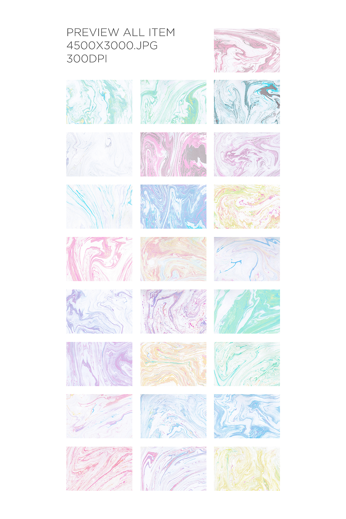 Marble Paper Textures Vol.4 example image 2