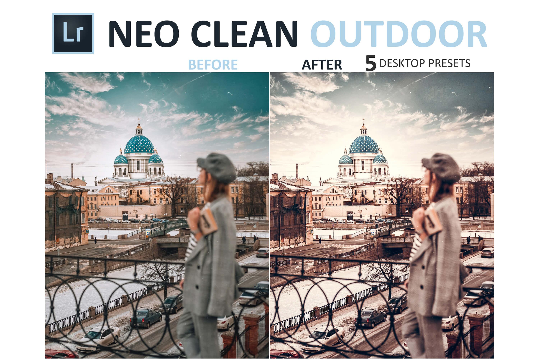 Neo Clean Outdoor Desktop Lightroom Presets example image 5