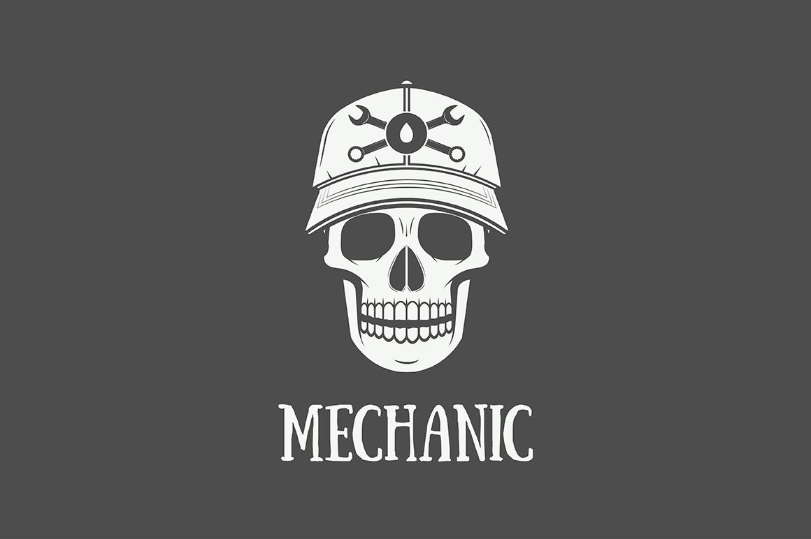 Mechanic and Car Repair Emblems Bundle example image 4