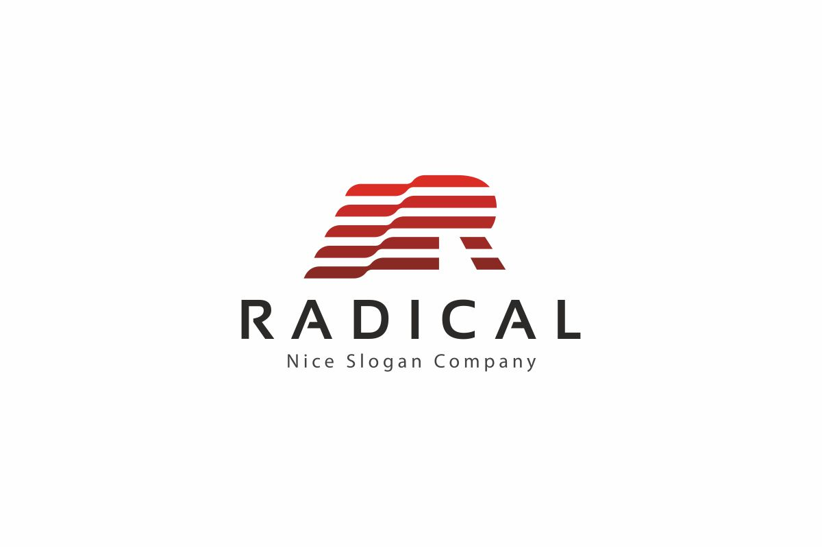 RADICAL - R Letter Logo example image 1