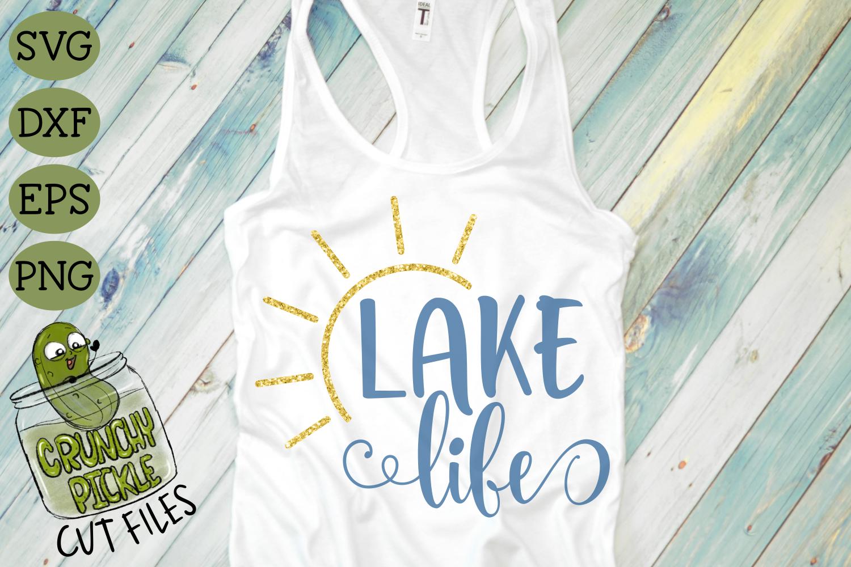 Lake Life Sun SVG example image 3