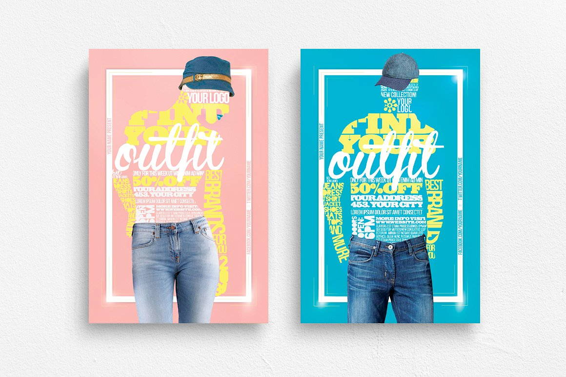 Your Outfit Flyer Template example image 1