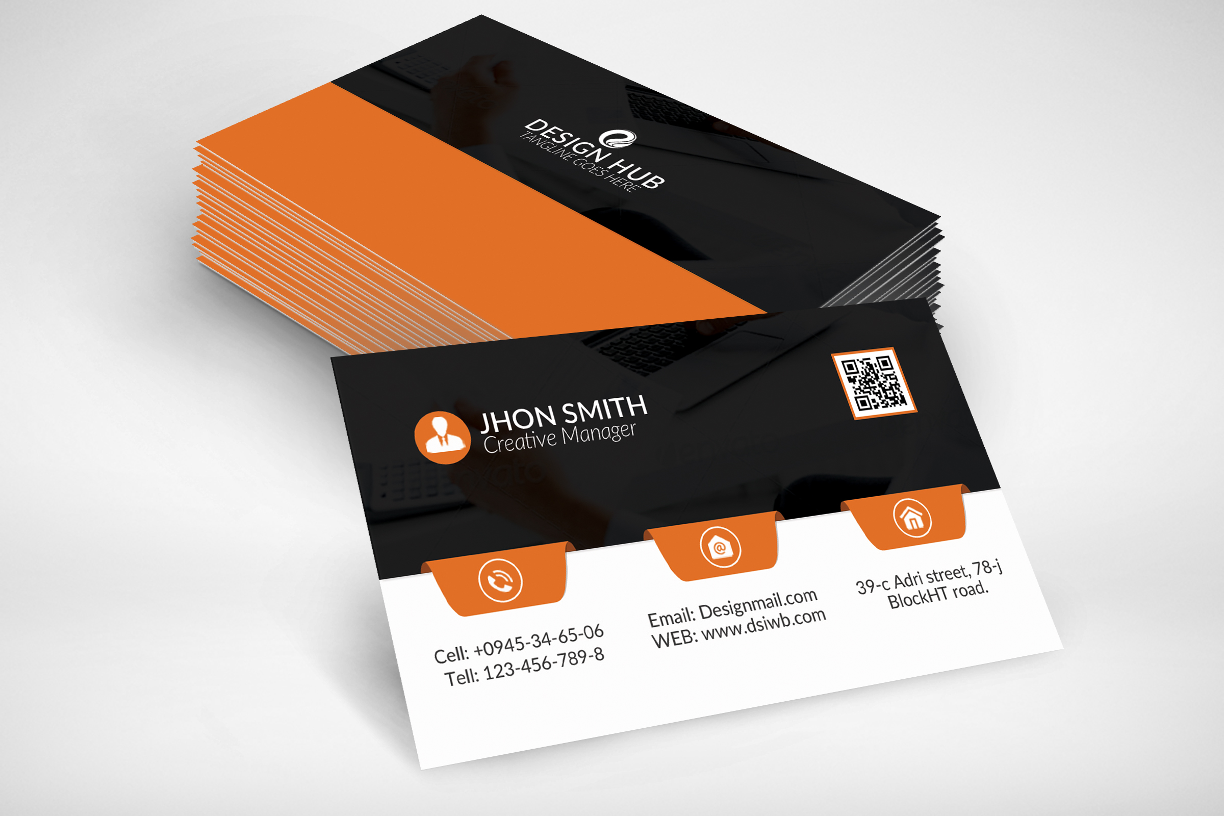Business Card Template example image 2