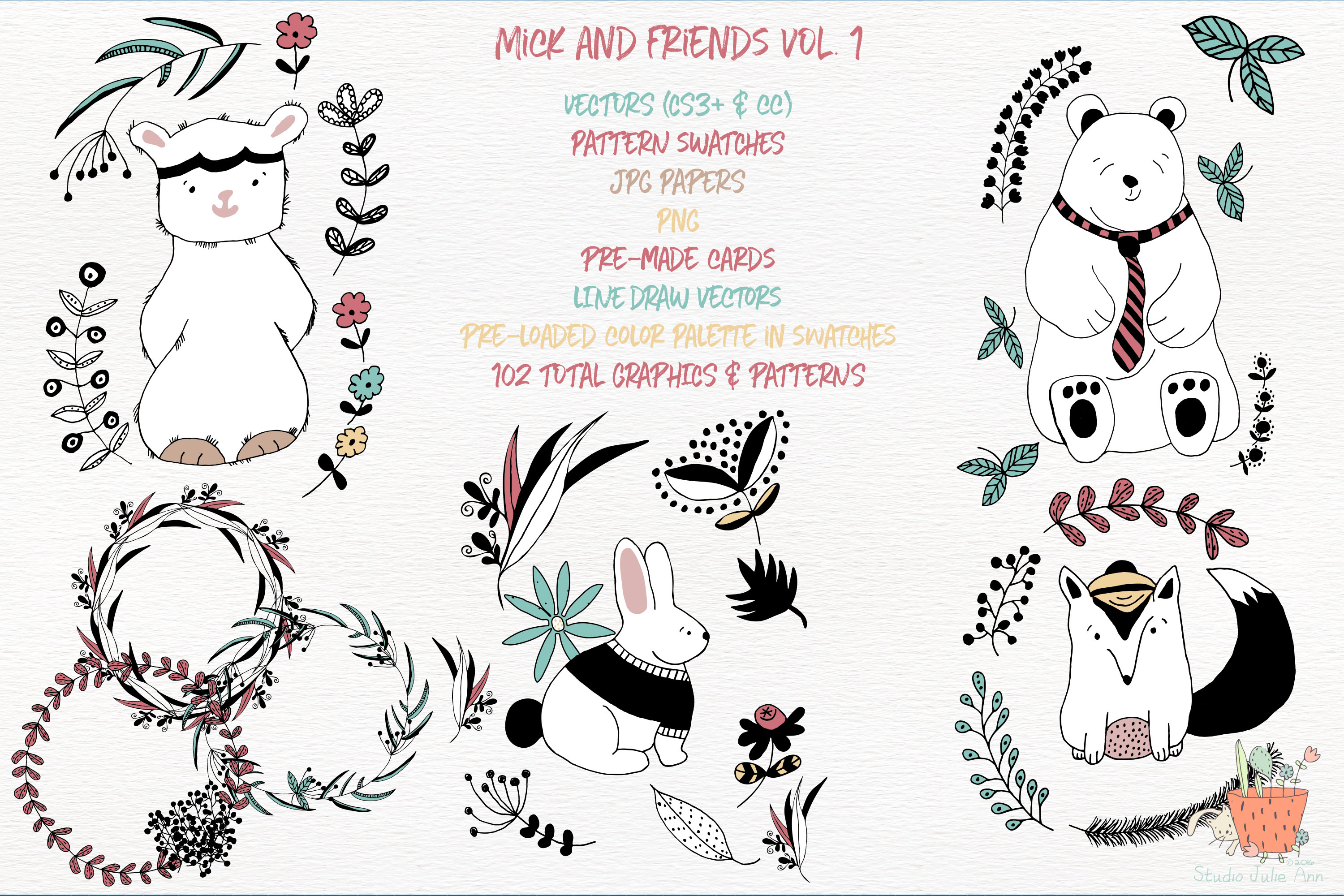 Mick and Friends Collection Vol 1 example image 1