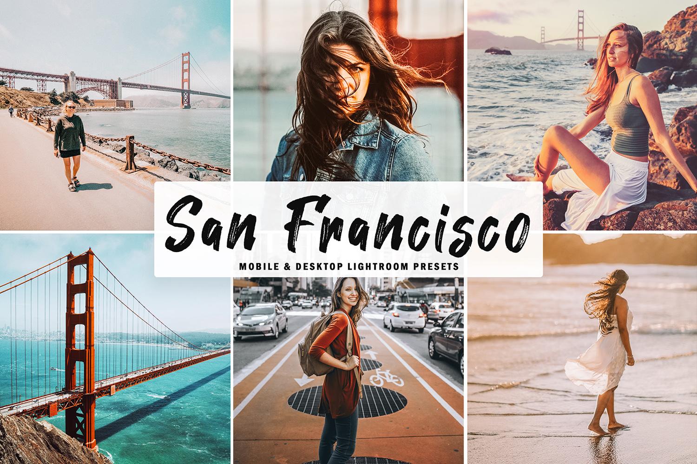 San Francisco Mobile & Desktop Lightroom Presets example image 1