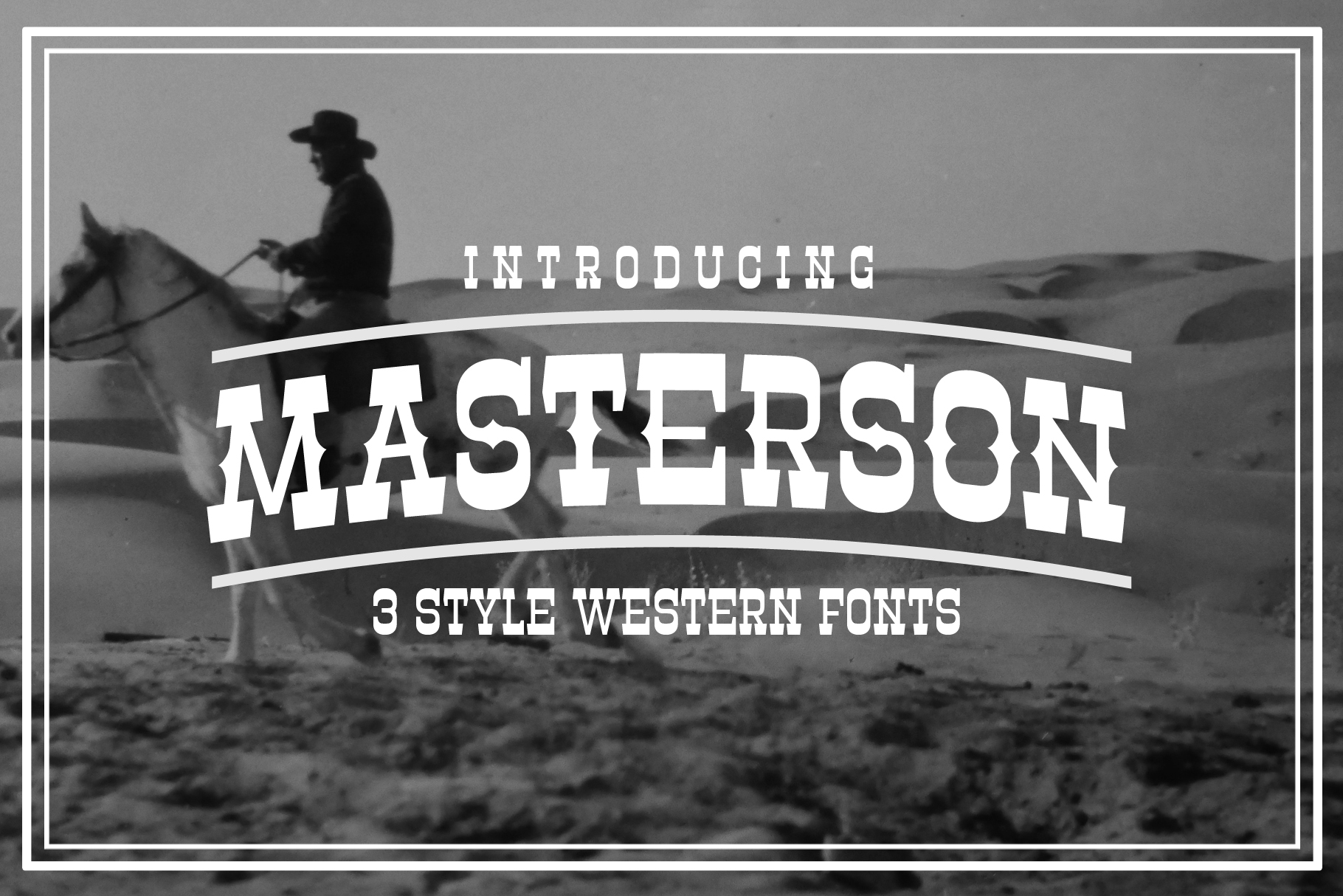 Masterson Font Family example image 1