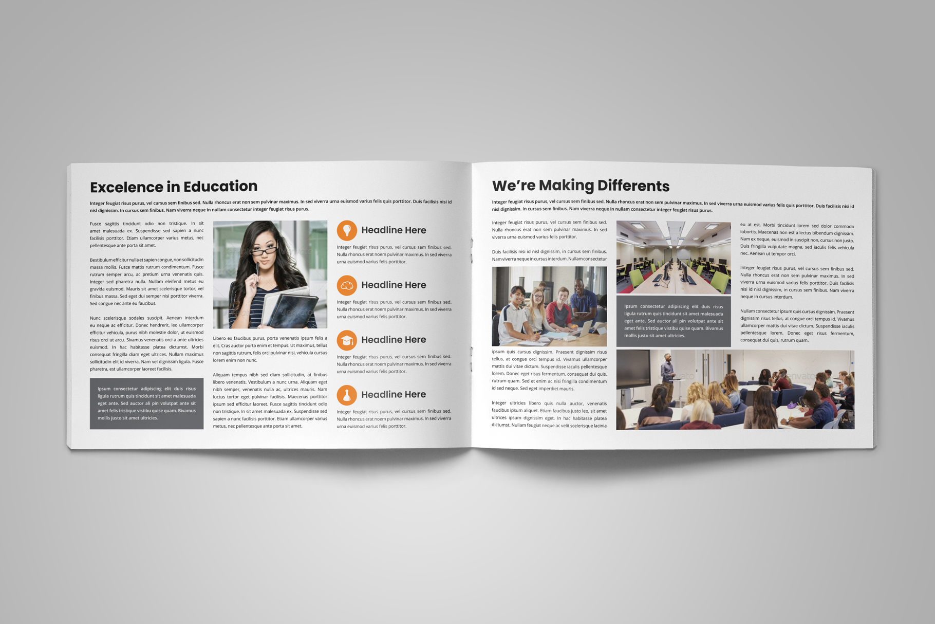 Education Prospectus Brochure v6 example image 7