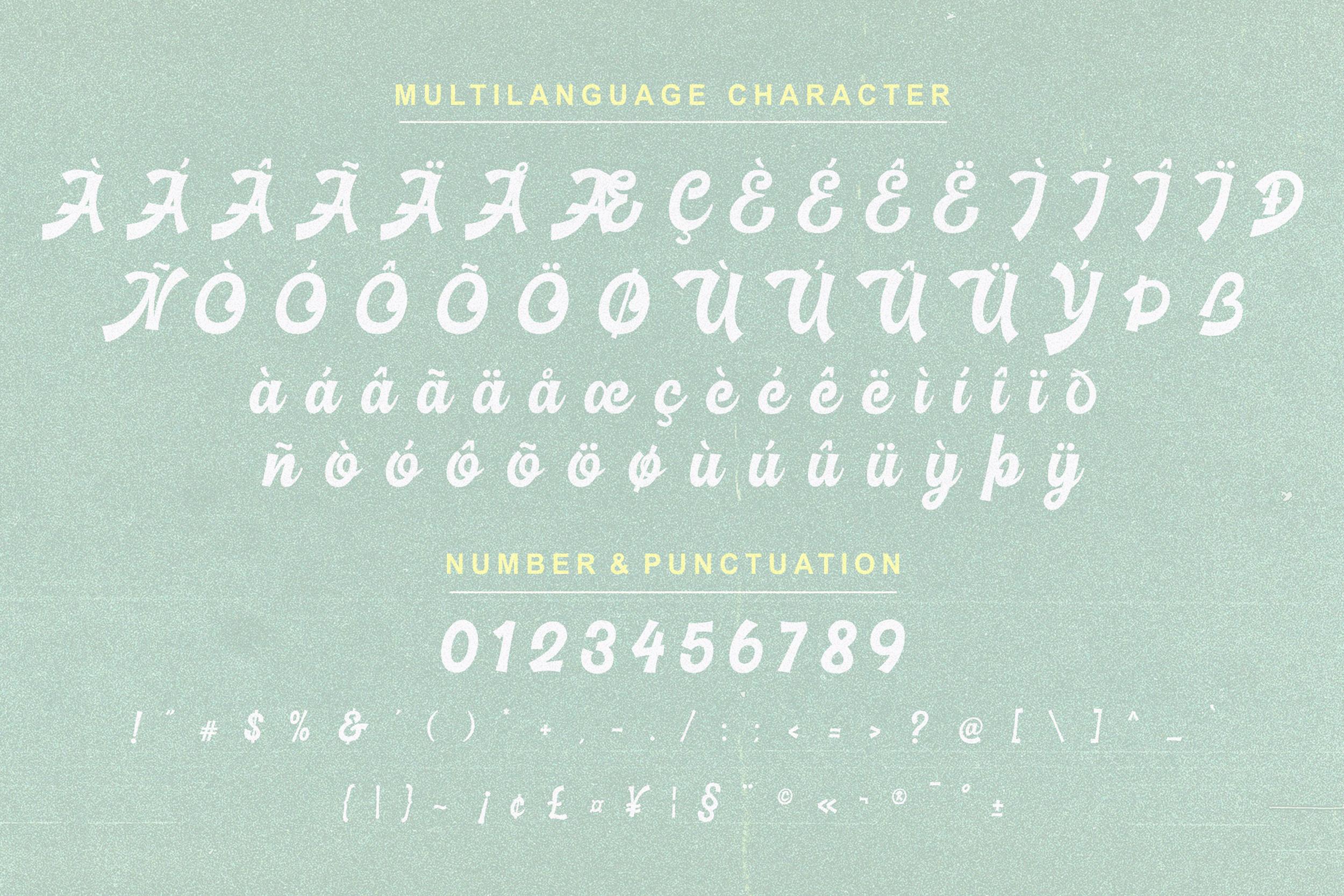 Basuki Script Font example image 10