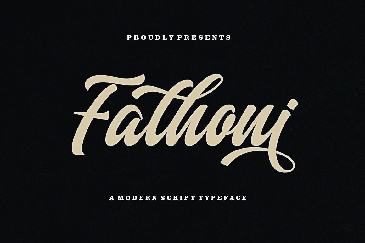 Fathoni example image 1
