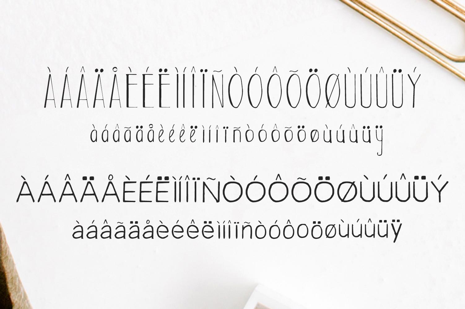Habel Handmade Duo Font + Bonus Free example image 4