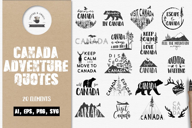 Canada adventure quotes example image 1