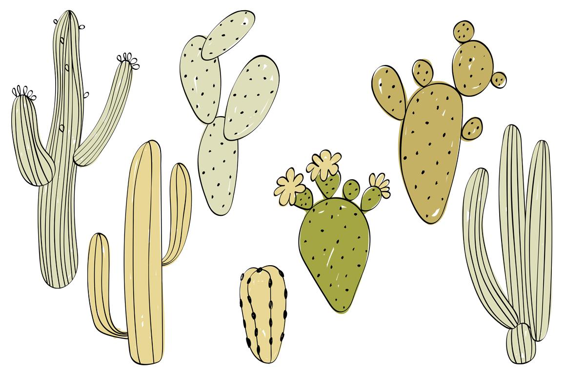 Safari animals. Vector set. example image 3