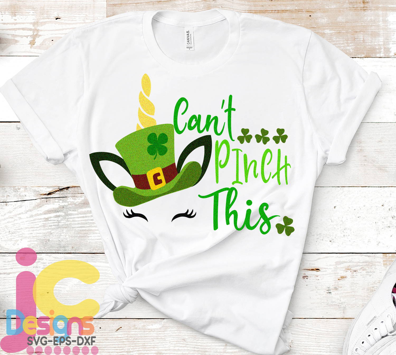 St. Patrick's day SVG, Unicorn SVG, Can't Pinch This svg example image 2