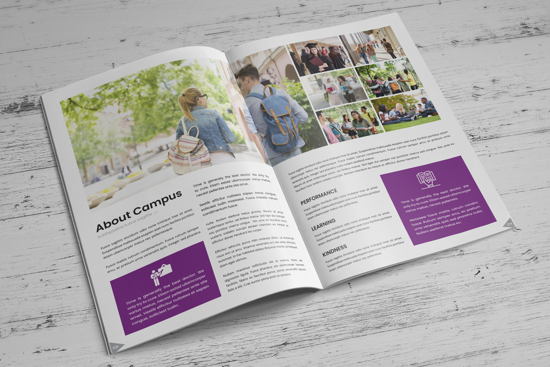 Education Prospectus Brochure v7 example image 6