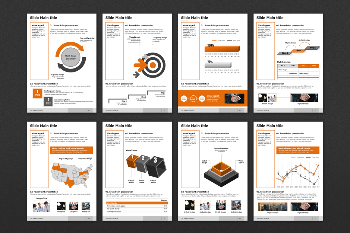 Modern Design Template Vertical example image 3