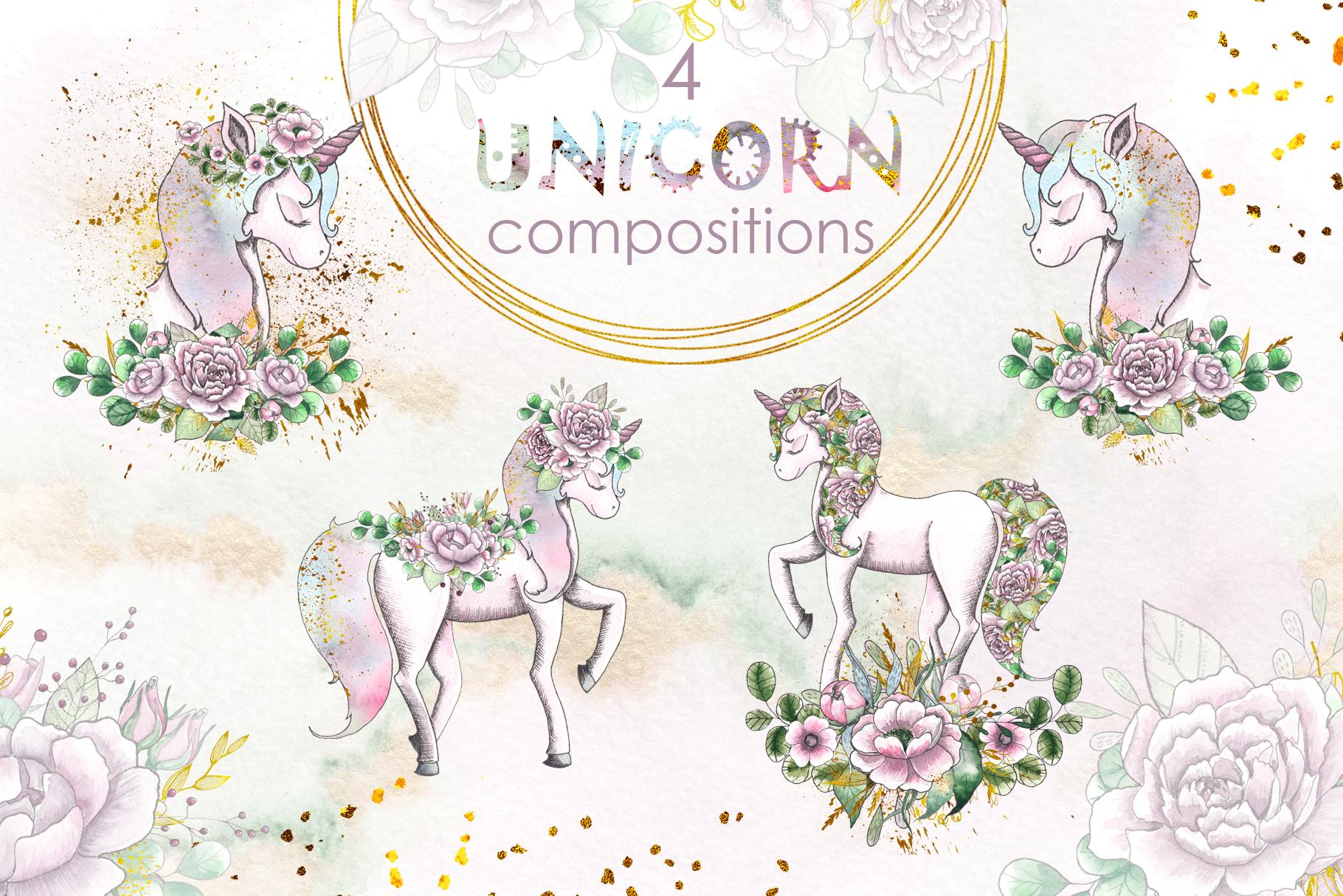 Charming Unicorns Bundle example image 18