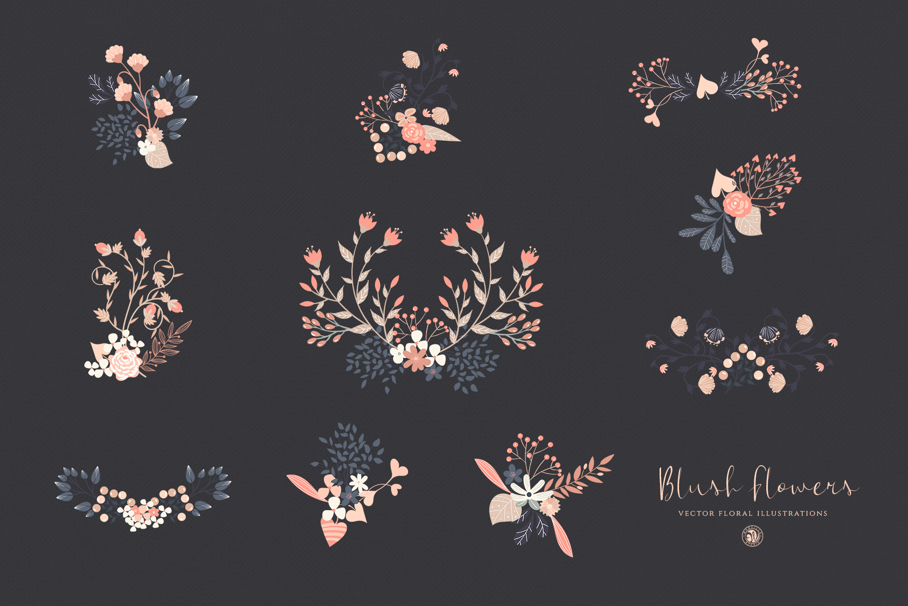 Blush Flowers example image 6