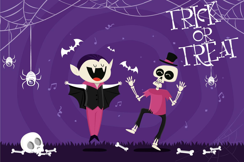 Resquro Halloween | Decorative Font example image 2