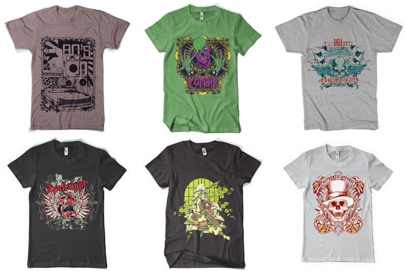100 T-shirt Designs Vol 4 example image 2