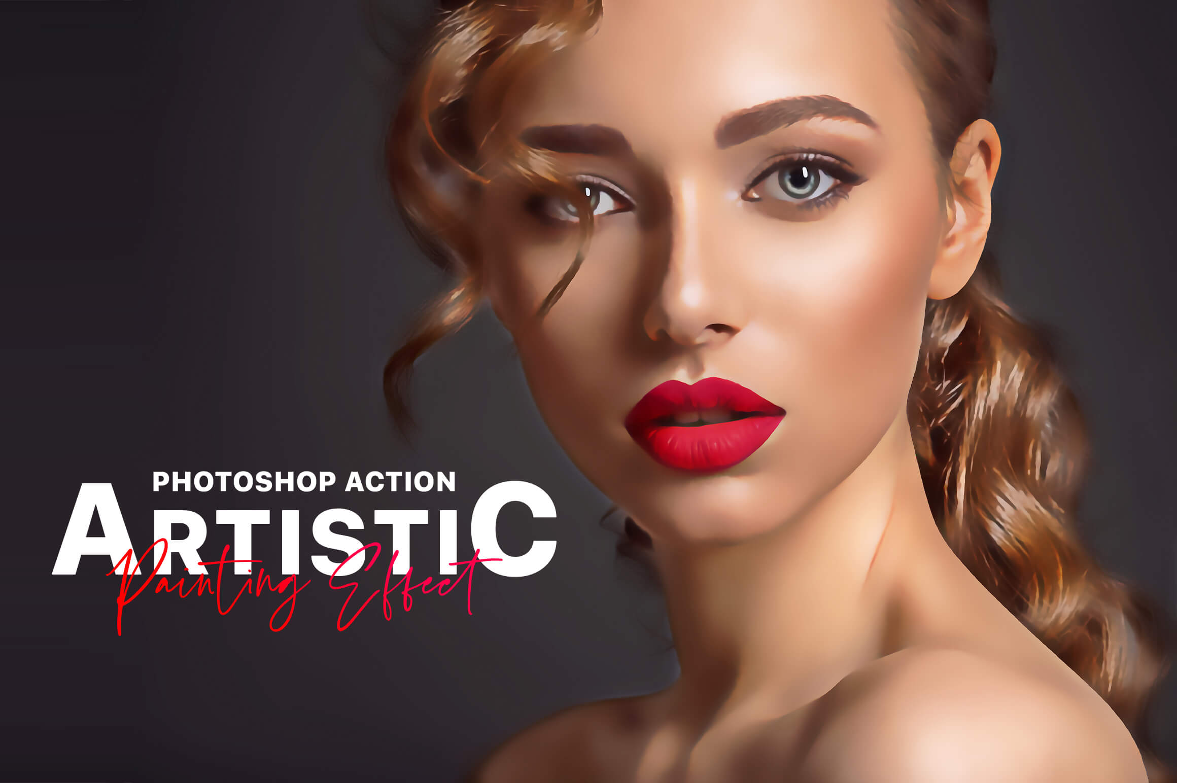 Artistic Painting Effect - Photoshop Action example image 1