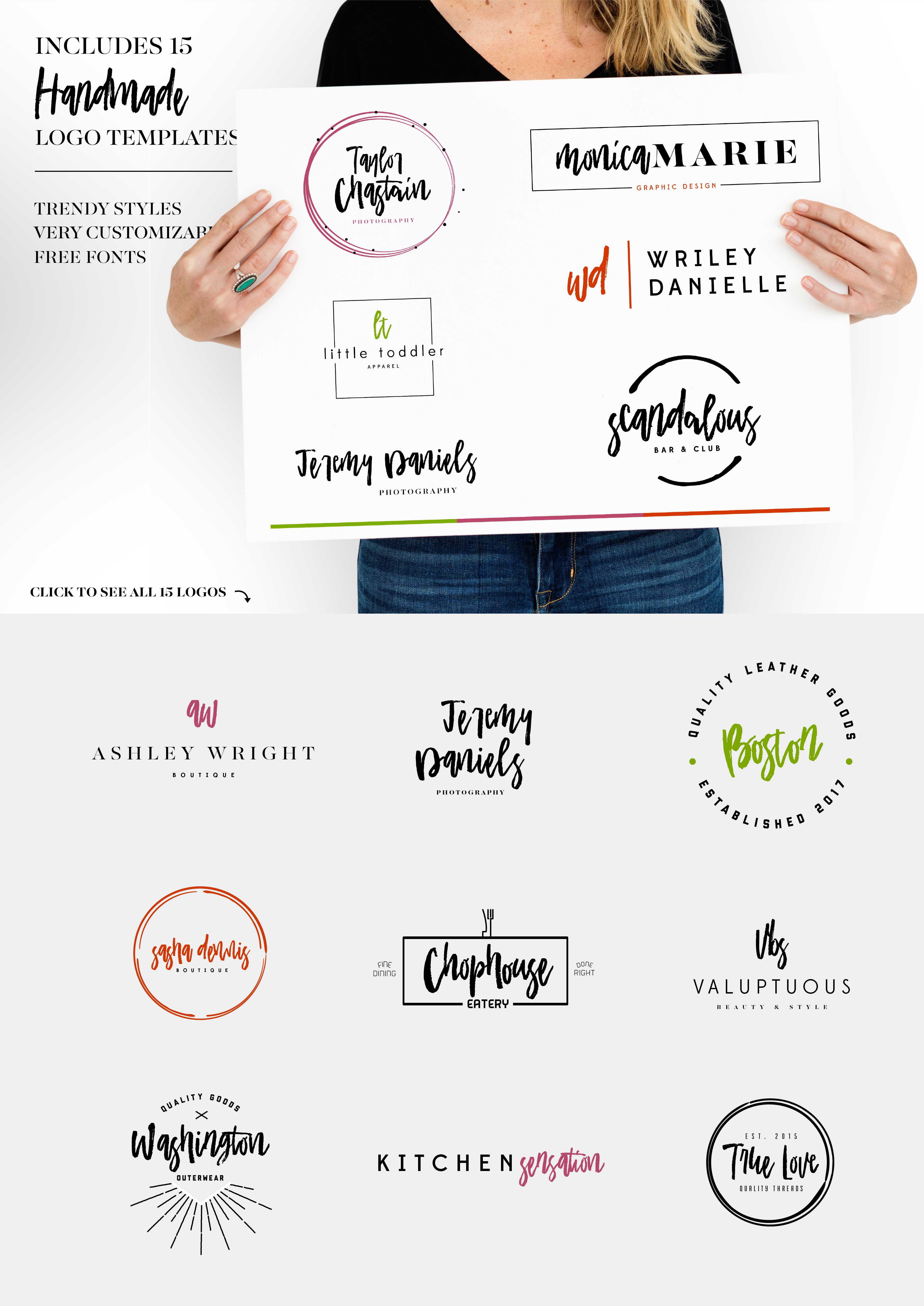 Academy House Font + Logos example image 3