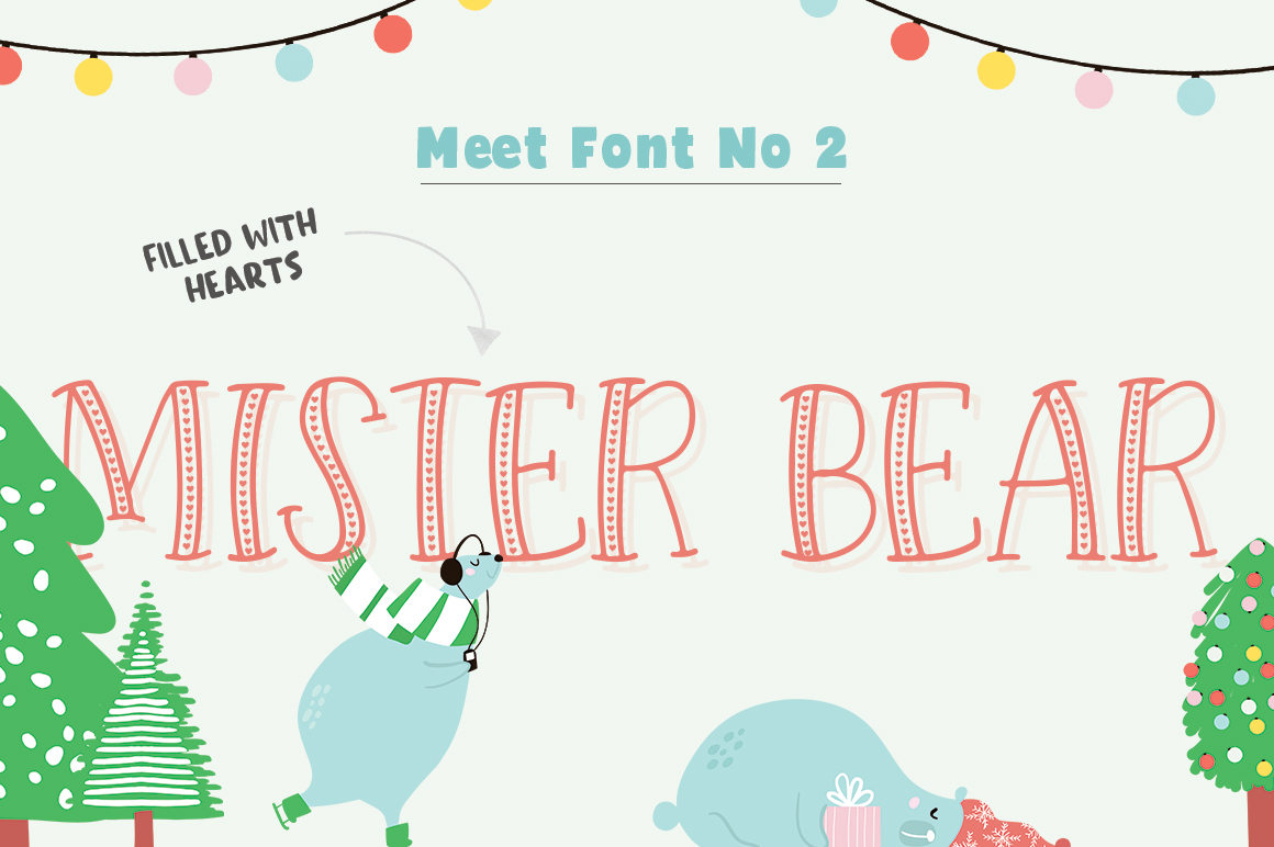 Forest Creatures Font Trio example image 3