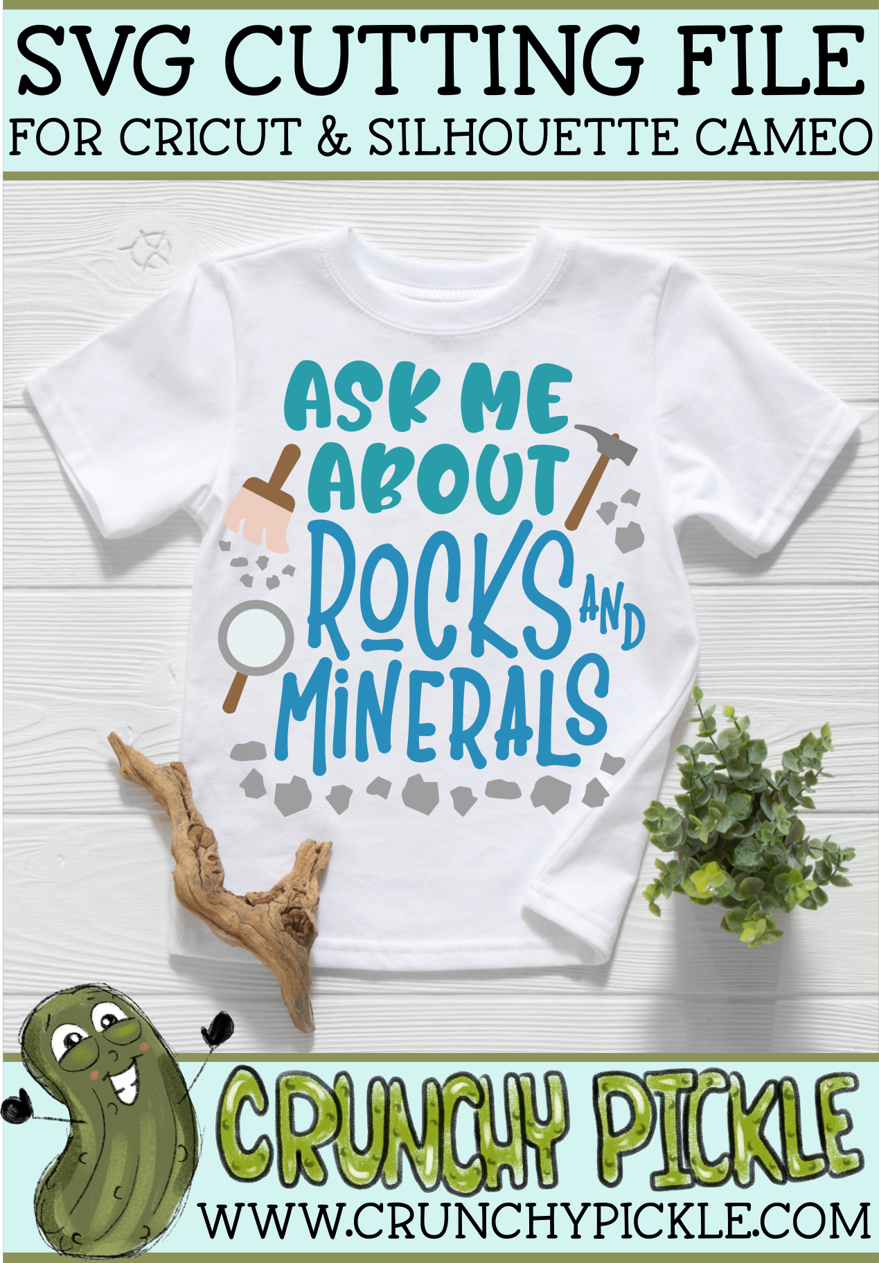 Ask Me About Rocks and Minerals SVG example image 4