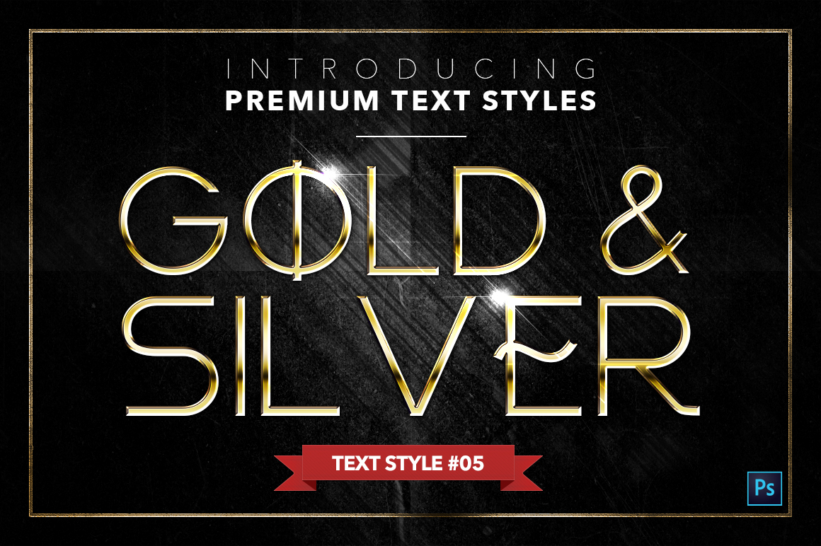 Gold & Silver #4 - 20 Text Styles example image 19