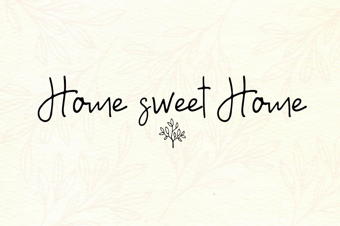 A Bientot | Font Duo with Bonus Logo example image 4