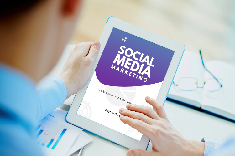 Social Media Tips & Marketing eBook Template example image 2
