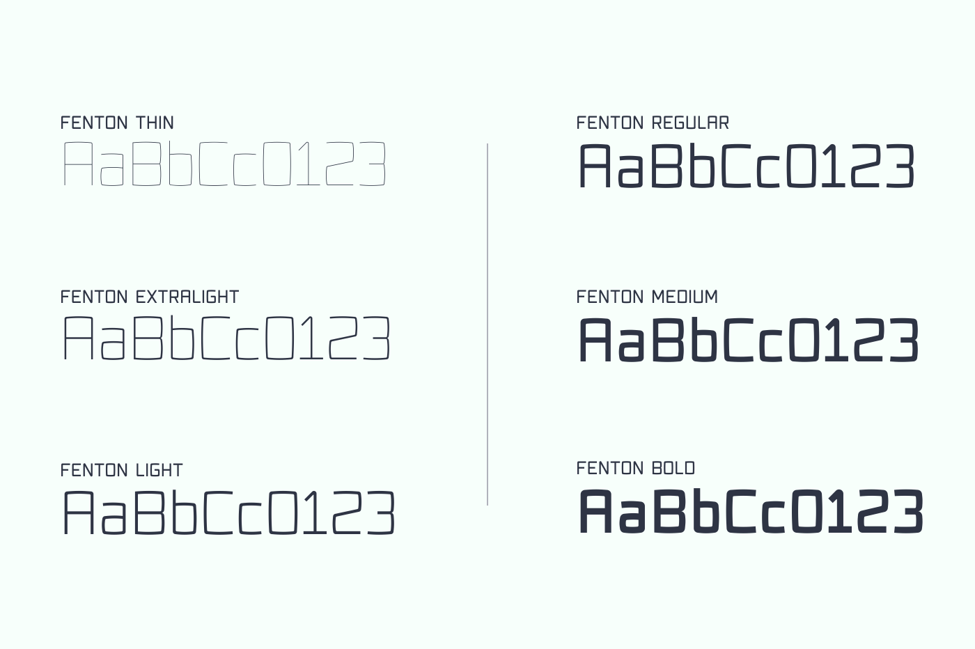 Fenton Typeface Family [75% OFF] example image 2