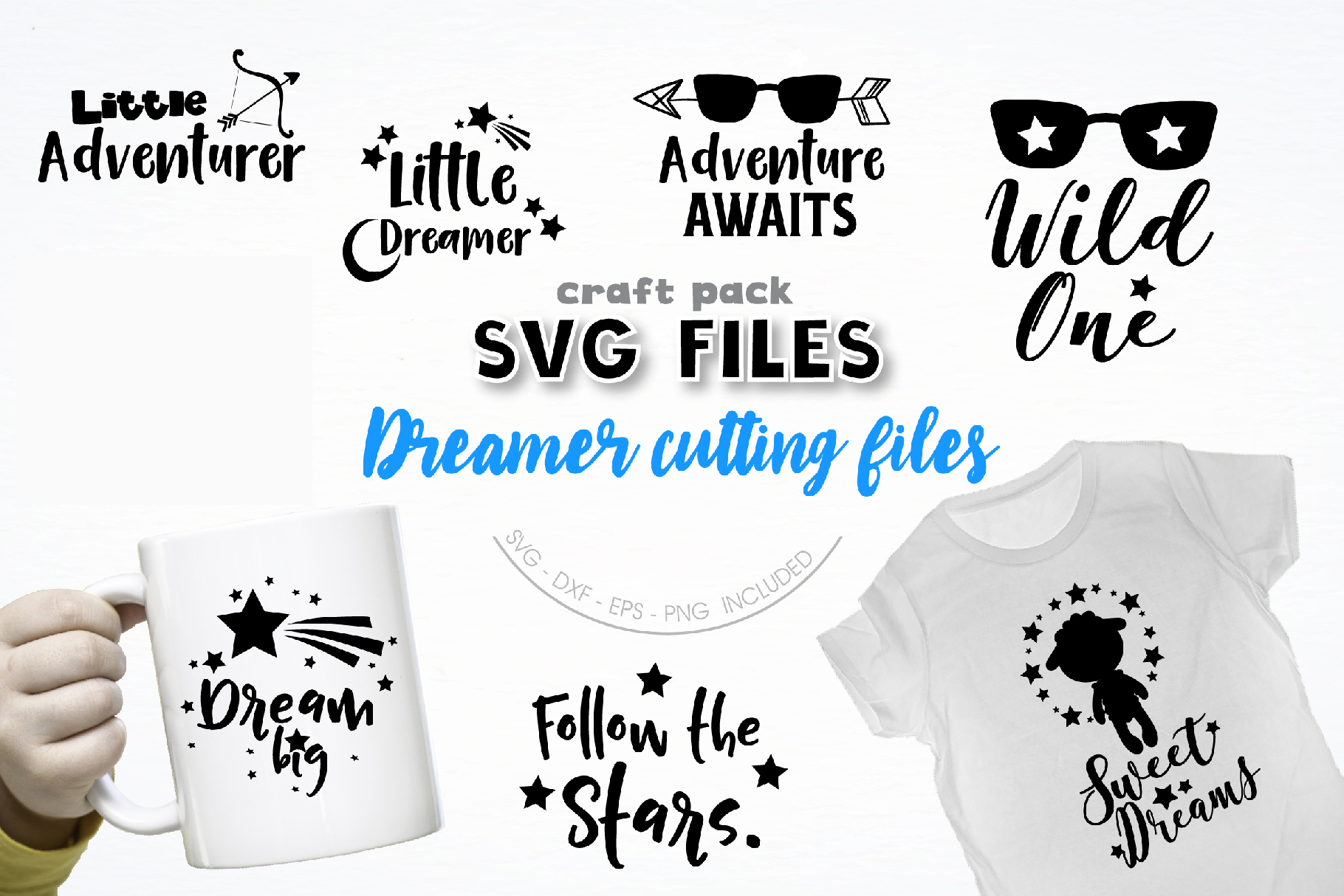 The AMAZING CRAFT BUNDLE, 1500 in 1, cutting file svg, dxf, example image 3