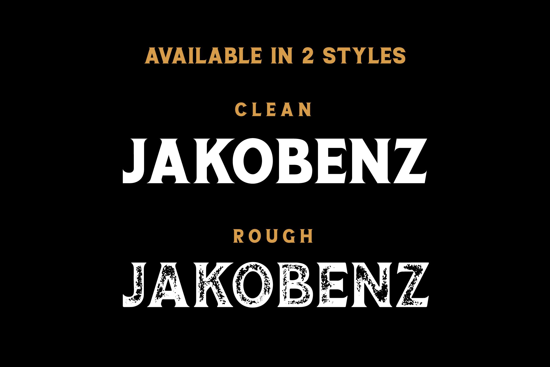 Jakobenz - Vintage Serif Font example image 5