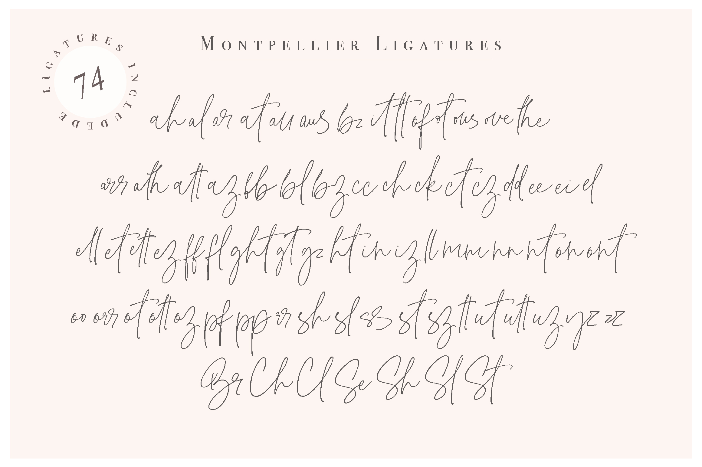 Montpellier | Signature Font example image 11