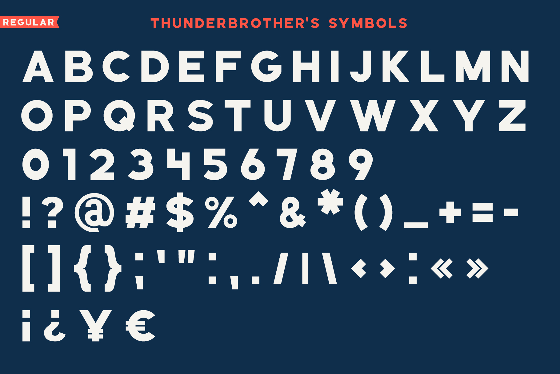 Thunderbrother - Bold Sans-serif Font example image 5