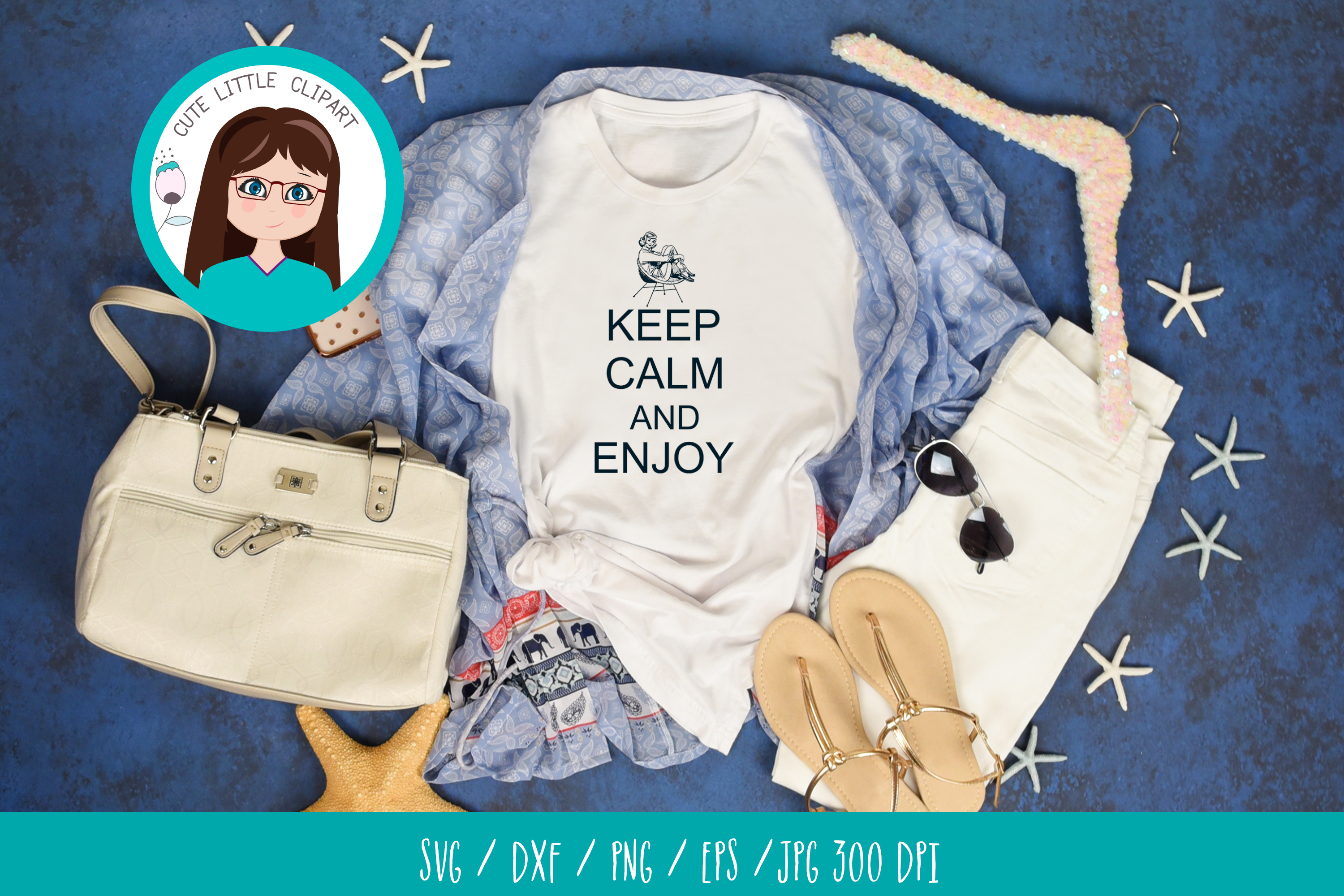 Keep Calm and Enjoy svg example image 3