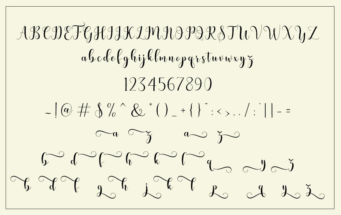 Bertilda Script example image 4