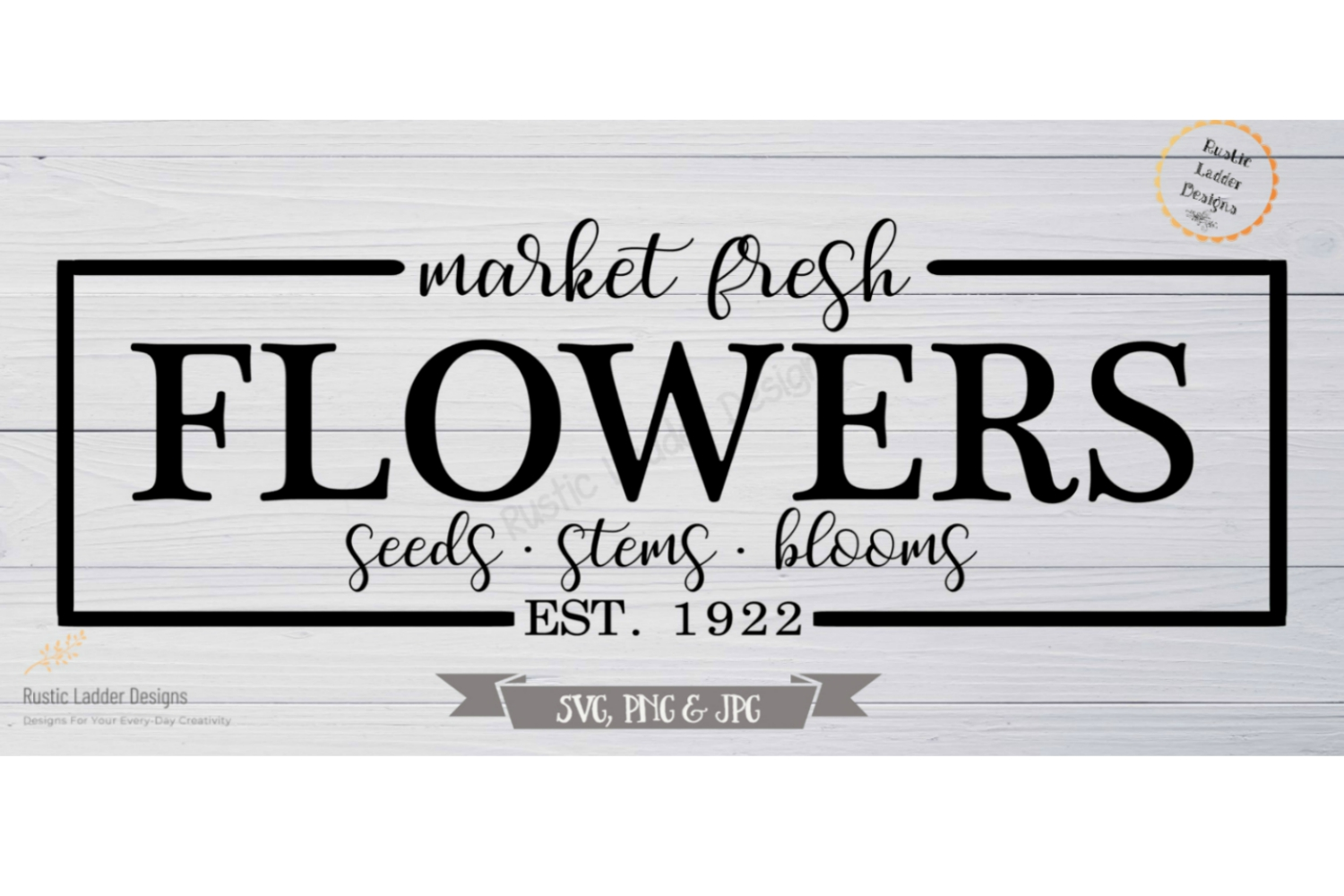 Market Fresh Flowers example image 1