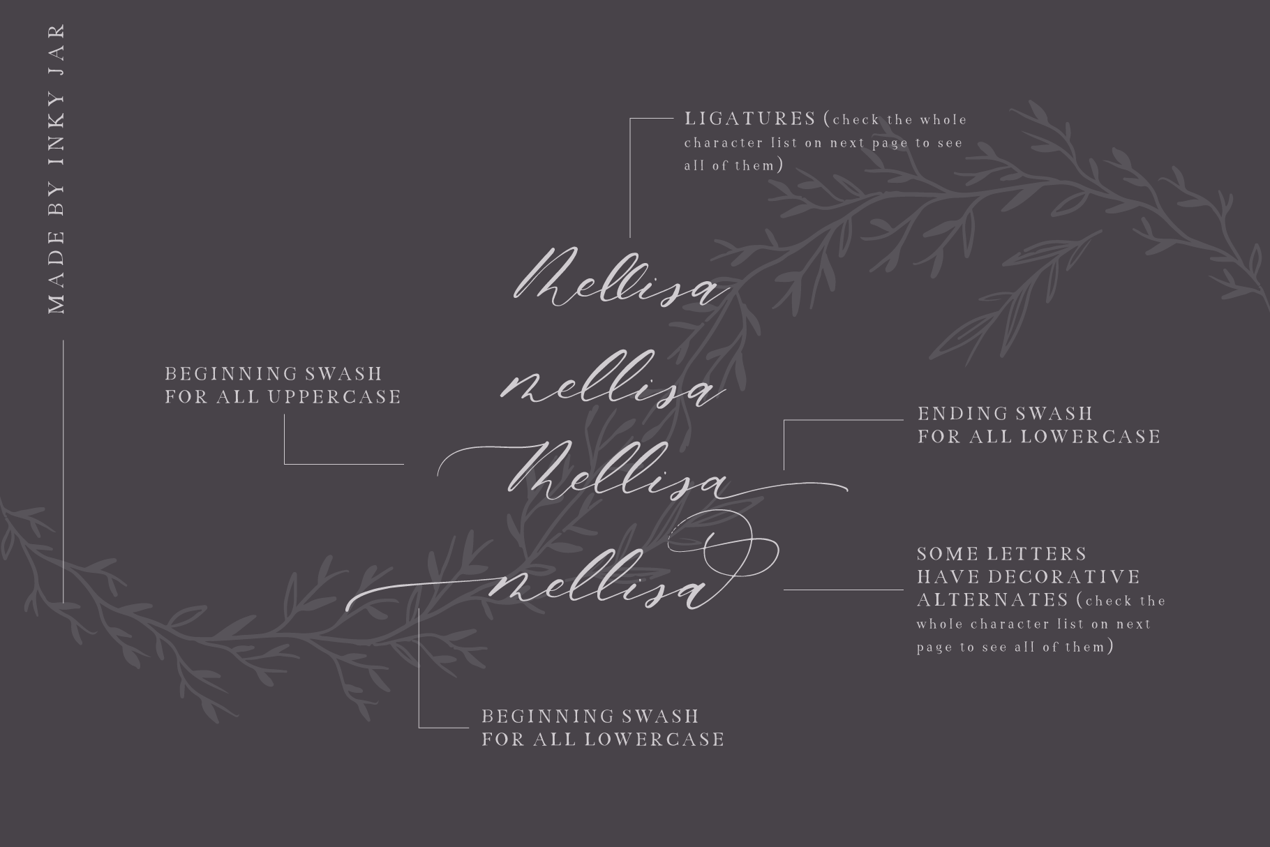 Just Married - Font Collection example image 3