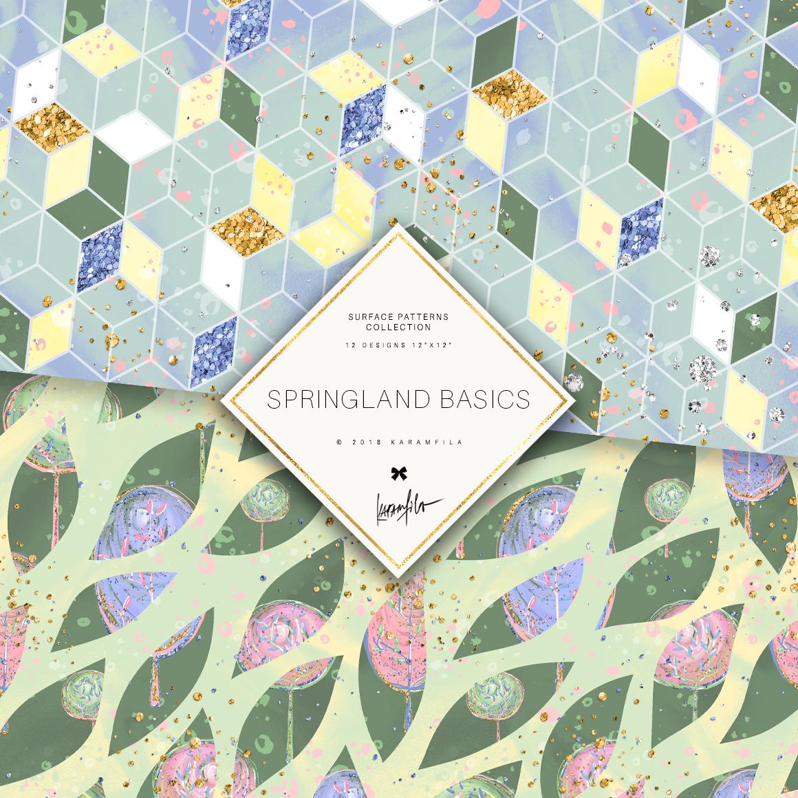 Karamfila's Springland Basic Patterns example image 6